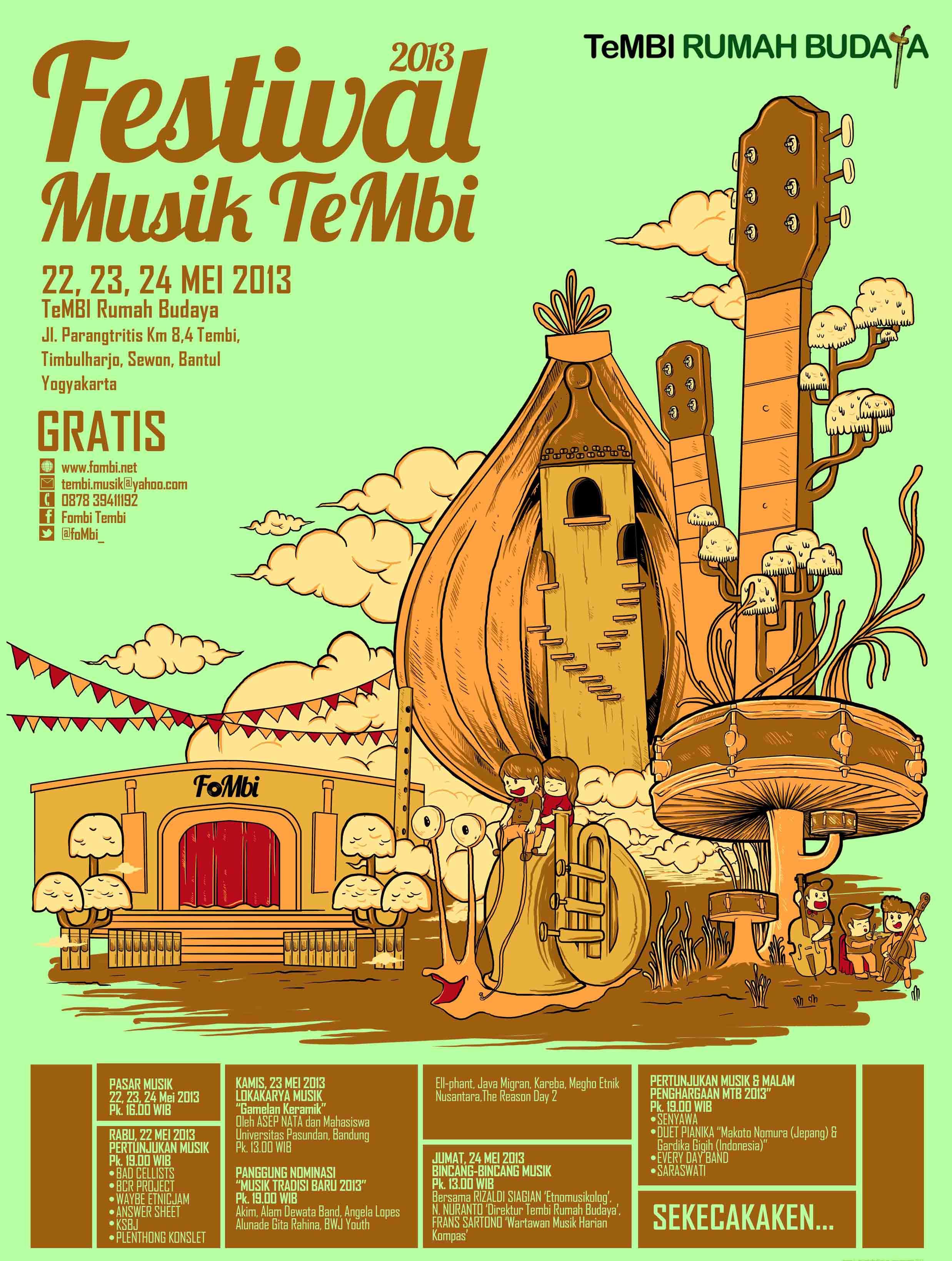 Photo of Festival Musik Tembi 2013, Ajang Kreasi dan Edukasi