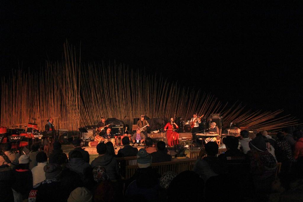 Djaduk Ferianto Ring of Fire feat. Idang Rasjidi & Jen Shyu (Photo : Iyori/WJ)