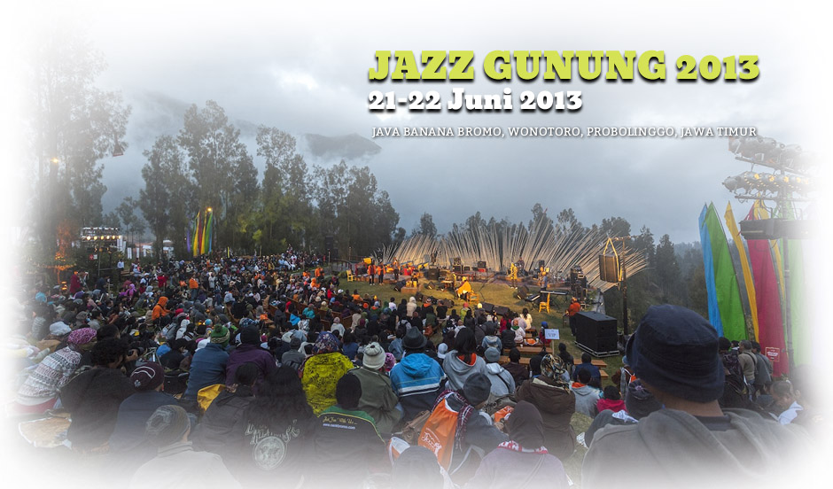 Photo of Jazz Gunung 2013: Indahnya Jazz, Merdunya Gunung