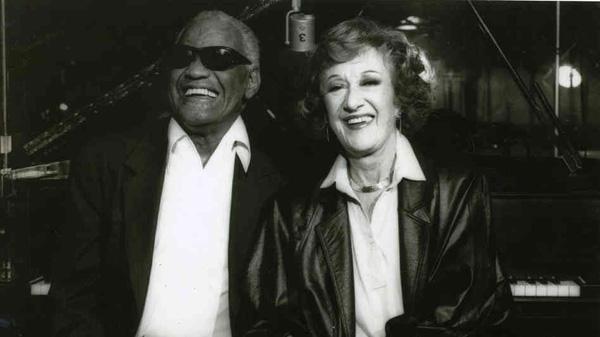 Marian McPartland and Ray Charles Courtesy of Vanguard