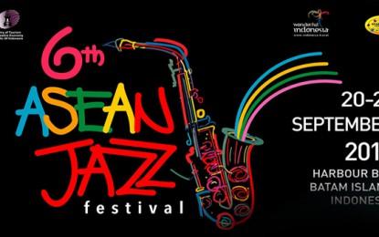 6th Asean Jazz Festival kembali dipentaskan di Batam