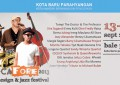 Locafore Art, Design and Jazz Festival kembali digelar 13-15 September 2013