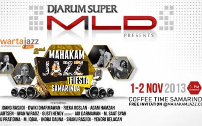 Kolaborasi Djarum Super Mild dan WartaJazz hadirkan Mahakam Jazz Fiesta 2013