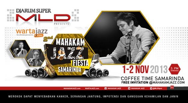 Photo of Dwiki Dharmawan merasa gembira bisa tampil  di Mahakam Jazz Fiesta 2013 Samarinda