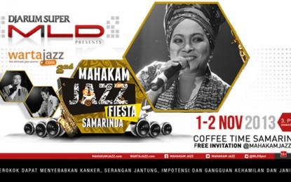 Menanti dua penulis lagu Rieka Roslan & Dwiki Dharmawan bertemu di Mahakam Jazz Fiesta