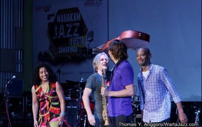 Tampil perdana,Boi Akih getarkan Mahakam Jazz Fiesta Samarinda 2013
