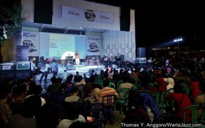 LIGRO menggila di Mahakam Jazz Fiesta Samarinda 2013