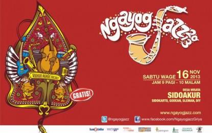 """Ngayogjazz 2013, """"Rukun Agawe Ngejazz"""", Kebersamaan Dalam Jazz"""