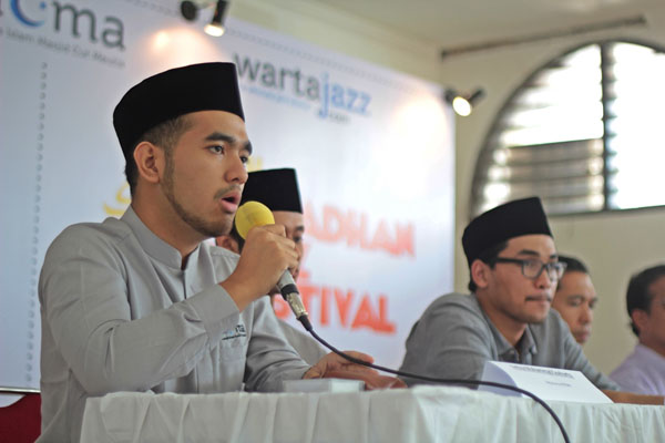 Press Conference Ramadhan Jazz Festival 2014