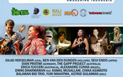 BRI TOUCH International Ubud Village Jazz Festival 2014