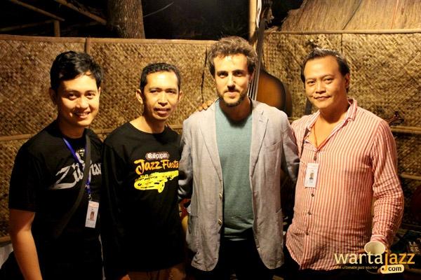 UVJF 2014 - Deva Permana, Agus Setiawan Basuni, Gilad Hekselman, Yuri Mahatma,