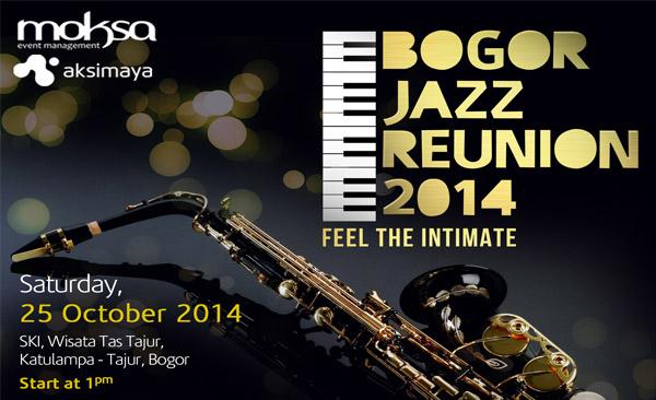 Photo of Bogor Jazz Reunion digelar 25 Oktober di SKI Katulampa