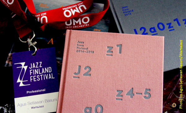Kompilasi CD Jazz from Finland 2014-2015 dan ID Peserta EJN