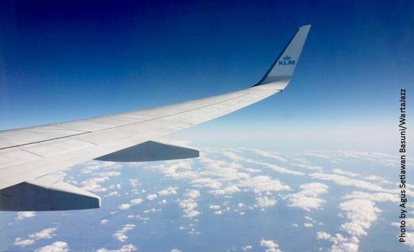 Langit Nordik yang biru