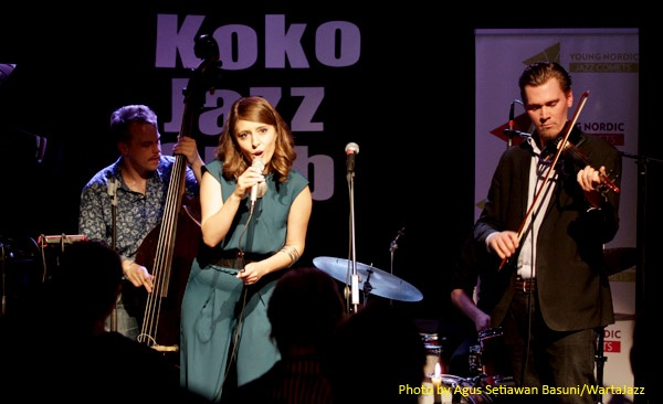 Young Nordic Jazz Comets 2014: Elena & the Rom Ensemble (Finland)