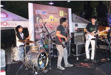 Tequila saat  Jazz and Blues, road to 3rd Mahakam Jazz Fiesta