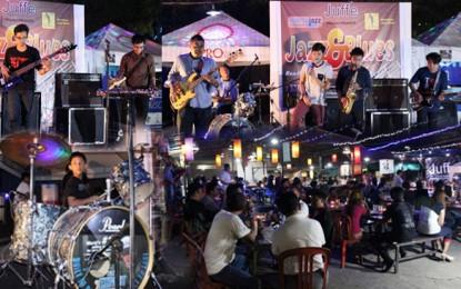 Jazz and Blues, Menyambut pesta Jazz tahunan, Mahakam Jazz Fiesta