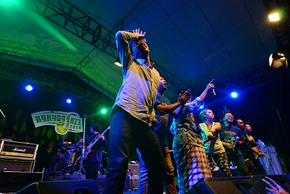 Photo of Kemeriahan jazz aneka warna dalam Ngayogjazz 2014