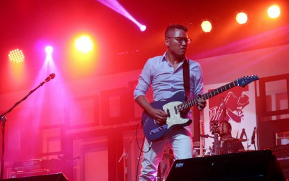 Andre Dinuth bawakan proyek solo di Java Jazz Festival  2015