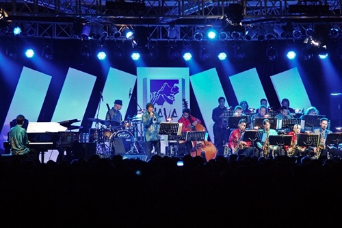 Ron King Big Band, Java Jazz Festival 2013 (foto oleh Alfonsus Aditya)