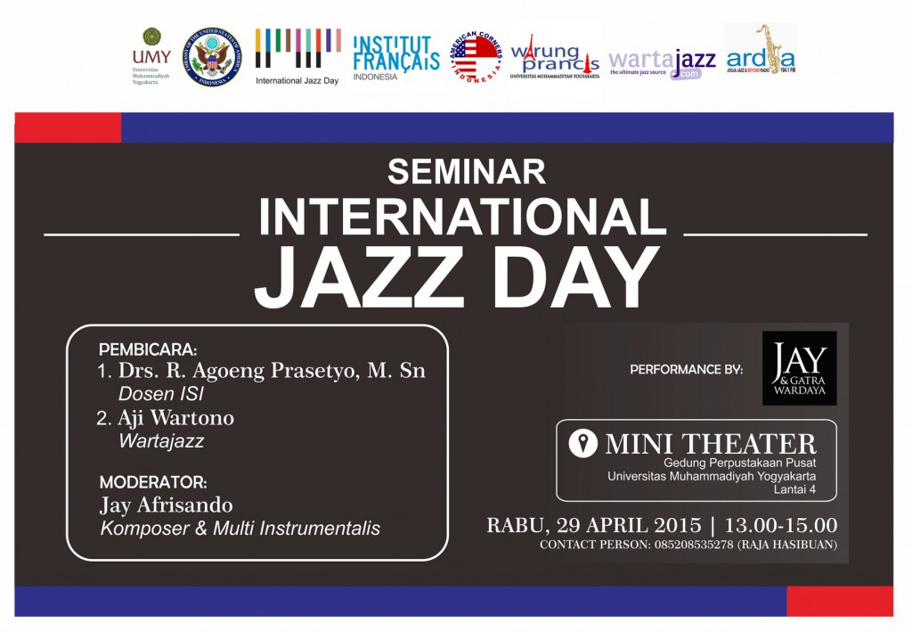 Seminar International Jazz Day di Yogyakarta