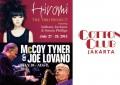 Hiromi, Joe Lovano & McCoy Tyner tandai beroperasinya The Cotton Club Jakarta