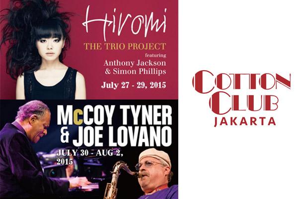 Hiromi, Joe Lovano & McCoy Tyner