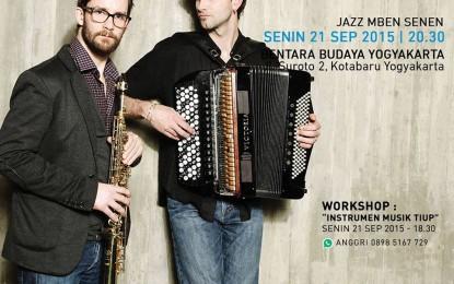 Konser Duo Peirani – Parisien dari Perancis Konser 5 Kota di Indonesia