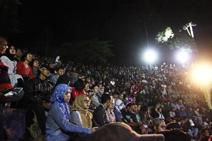 Antusiasme Penonton di Baturrajazz 2015