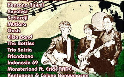 Baturraden Jazz Festival (Baturra Jazz) 2015 Digelar di tempat Wisata Baturraden