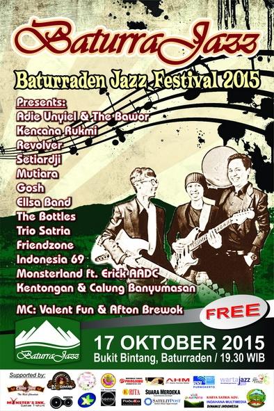 Baturraden Jazz Festival (Baturra Jazz) 2015