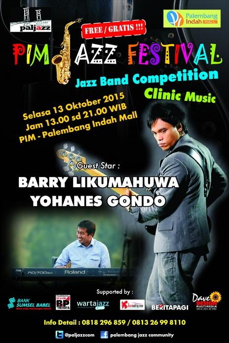 Photo of Palembang Jazz Community Gelar Band Jazz Competition & Clinic Music