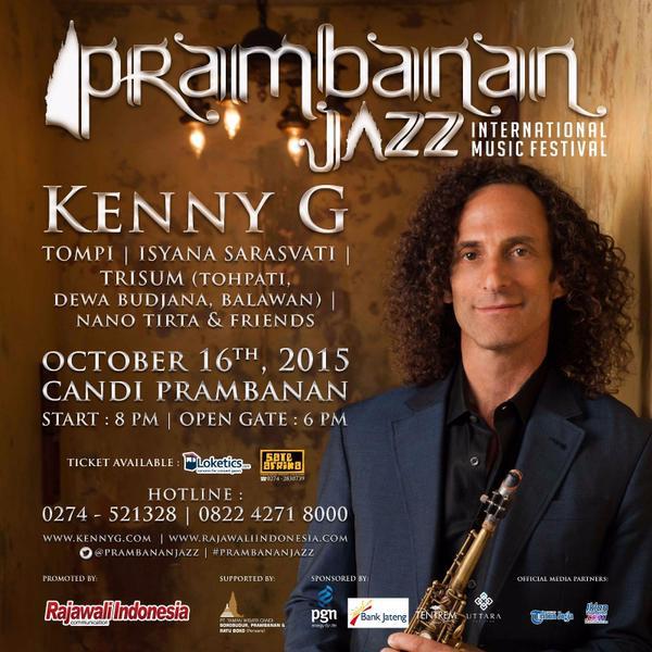 Prambanan Jazz 2015