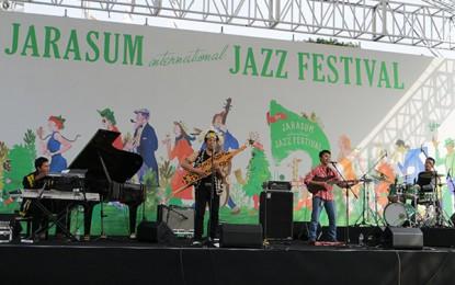 YK Samarinda pukau penonton Jarasum International Jazz Festival