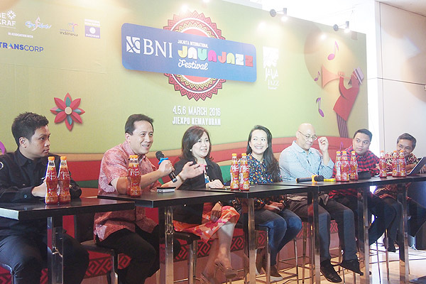 Press Conference BNI Java Jazz Festival 2016