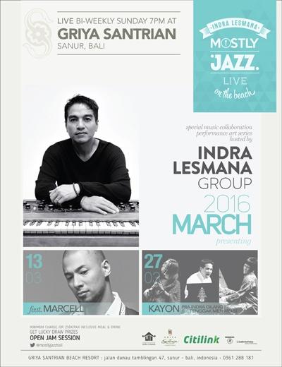Mostly Jazz Bali - Maret 2016