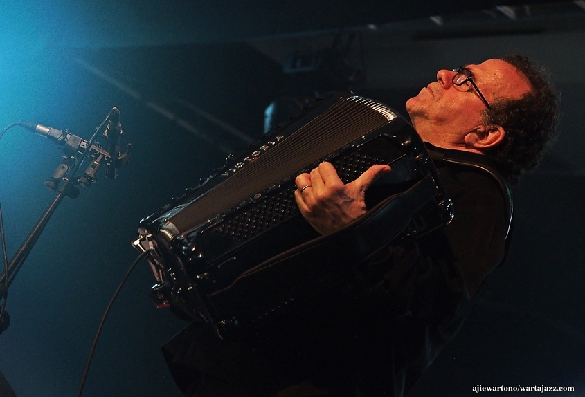 Richard Galliano di Java Jazz Festival 2016 (photo : ajiewartono/wartajazz.com)