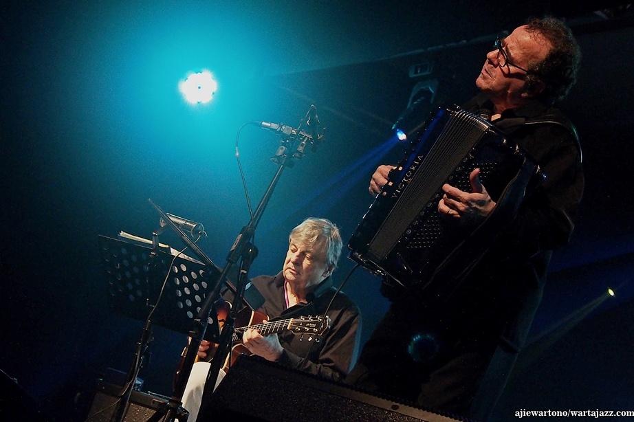 Richard Galliano dan Philip Chaterine di Java Jazz Festival 2016 (Photo : ajiewartono/wartajazz.com)
