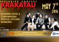 Konser Ekslusif Krakatau Reunion bakal digelar di Festival Citylink Bandung