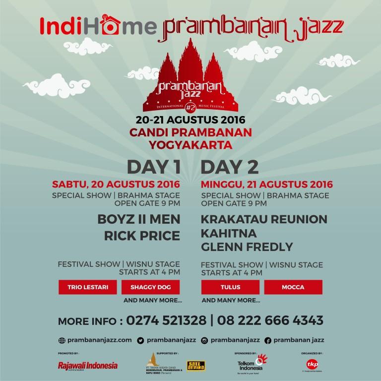 IndiHome Prambanan Jazz 2016