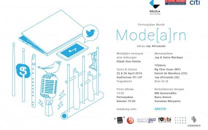 Mode[a]rn, Sebuah Pertunjukan Musik dari Jay Afrisando