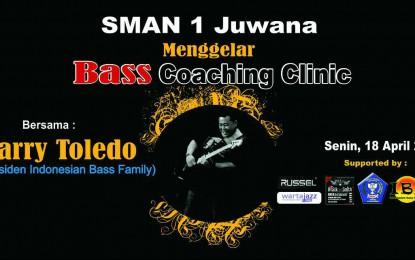 "Bass ""Coaching Clinic"" bersama Harry Toledo (Presiden IBF) di SMAN 1 Juwana, Kab.Pati – Jateng"