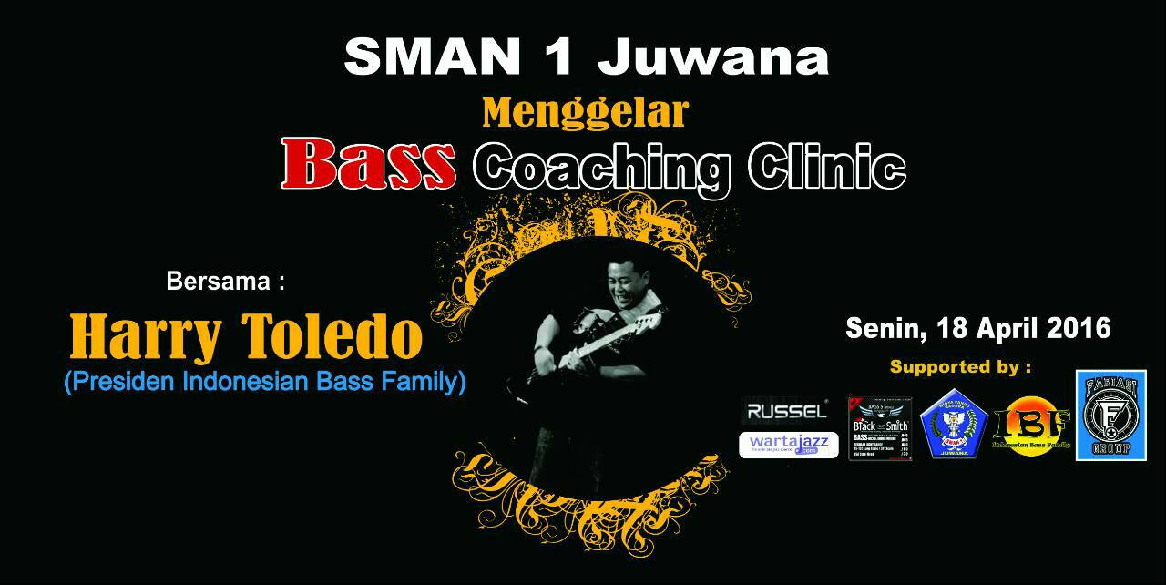 "Photo of Bass ""Coaching Clinic"" bersama Harry Toledo (Presiden IBF) di SMAN 1 Juwana, Kab.Pati – Jateng"