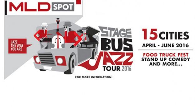 MLD Spot kembali gelar Stage Bus Jazz Tour 2016