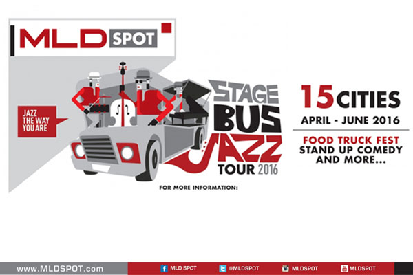 Photo of MLD Spot kembali gelar Stage Bus Jazz Tour 2016