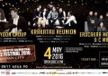 North Sumatra Jazz Festival 2016 hadirkan Krakatau Reunion, Jeff Lorber, Phil Yoon dan CMan