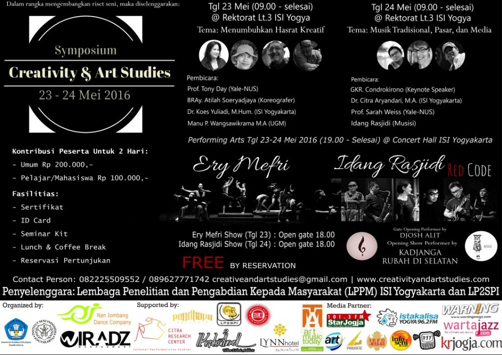 Symposium Creativity & Art Studies