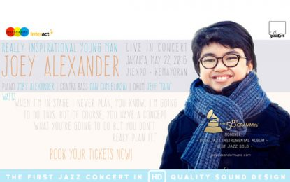 Pianis muda nominator Grammy dari Indonesia – Joey Alexander