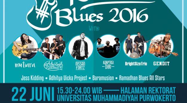 7th Ramadhan Blues 2016 Kembail Digelar di Purwokerto