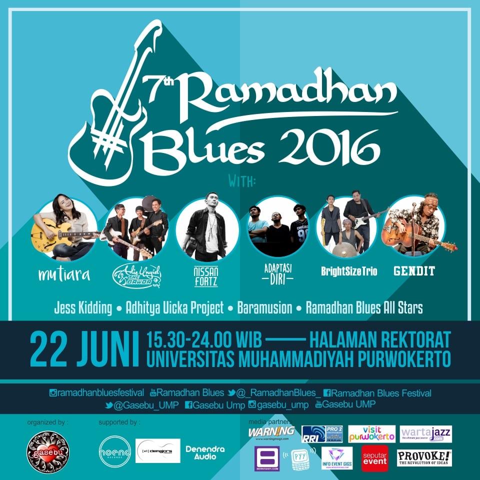 7th Ramadhan Blues 2016